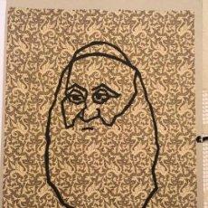 Arte: EDUARDO ARROYO. DICCIONARIO IMPOSIBLE 3. ESTAMPA FIRMADA Y NUMERADA. EDITORIAL LARGA MARCHA.. Lote 170334980