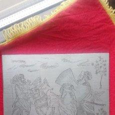 Arte: GRABADO A LA PUNTA SECA, MONGOLES. Lote 170422360