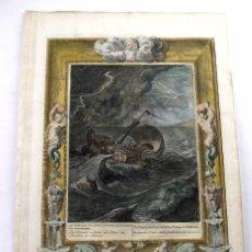 Arte: ESCENA MITOLÓGICA: LOS DIOSCUROS, 1733. BERNARD PICART. Lote 170593145
