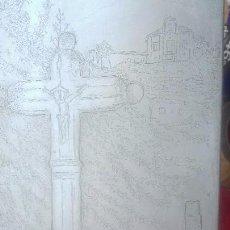 Arte: GRABADO A LA PUNTA SECA.SUBIDA AL SACROMONTE.GRANADA. Lote 170763825