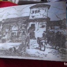 Arte: GRABADO A LA PUNTA SECA.CASA ÁRABE.. Lote 170936870