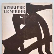 Arte: EDUARDO CHILLIDA: DLM / DERRIERE LE MIROIR 90-91 / MAEGHT, 1956, 1ª EDICIÓN. Lote 171050602