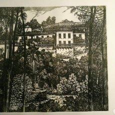 Arte: GRABADO CASTRO GIL,. PAZO DO FARAMELLO. Lote 171578599