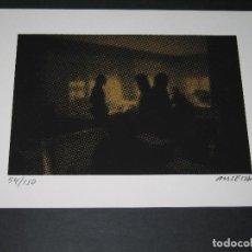Arte: GRABADO DE ENRIC ANSESA - INTERIORS - 2008 - SERIE FIRMADA Y NUMERADA 54 DE 150. Lote 171615759