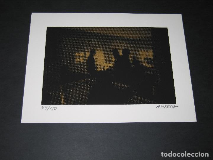 Arte: GRABADO de Enric Ansesa - Interiors - 2008 - Serie Firmada y Numerada 54 de 150 - Foto 3 - 171615759