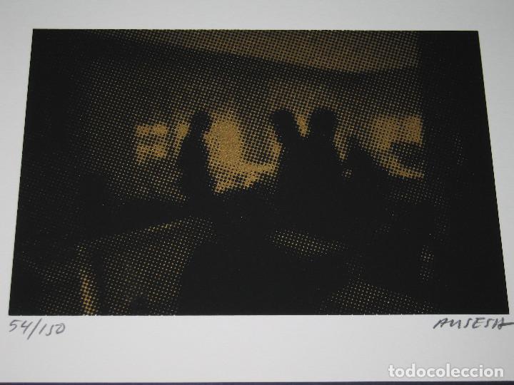 Arte: GRABADO de Enric Ansesa - Interiors - 2008 - Serie Firmada y Numerada 54 de 150 - Foto 4 - 171615759