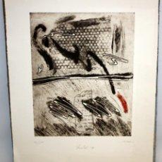 Arte: ROSA SIRE I CABRE - GRABADO - 46/100 - NADAL 87.. Lote 172000137
