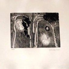 Arte: JOSEP GUINOVART- GRABADO SOBRE PAPEL -. Lote 172011204