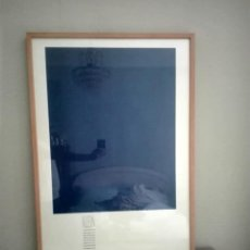 Arte: LITOGRAFÍA OFSET YVES KLEIN. CENTRO GEORGE POMPIDOU. PARÍS. Lote 172017108