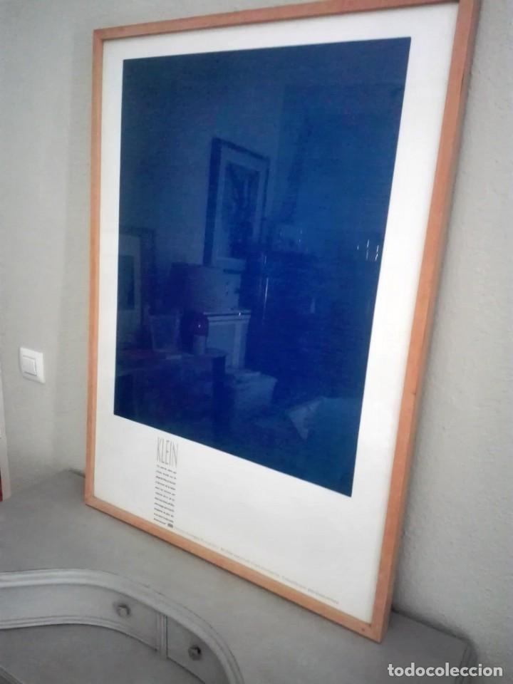 Arte: Litografía ofset Yves Klein. Centro George Pompidou. París - Foto 2 - 172017108