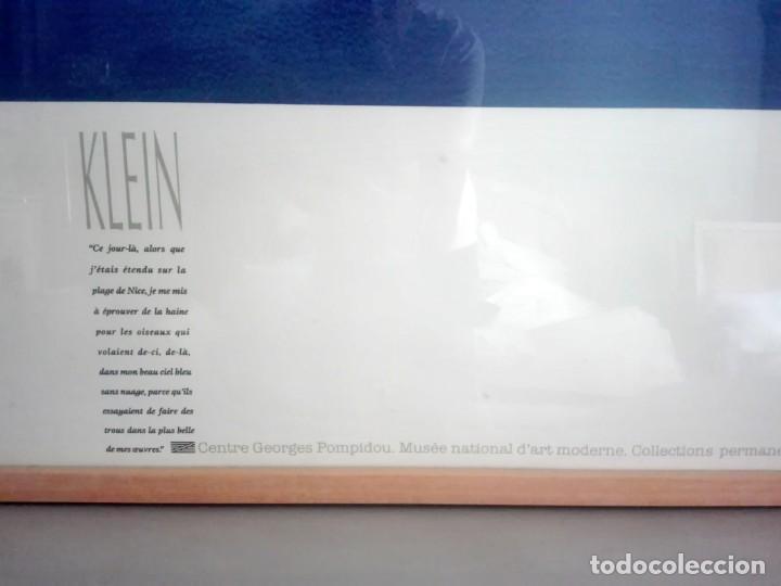Arte: Litografía ofset Yves Klein. Centro George Pompidou. París - Foto 4 - 172017108