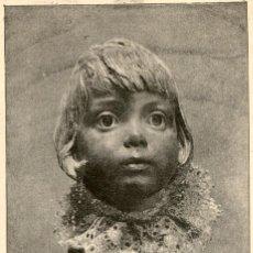 Arte: 1887 - RETRATO DEL HIJO DEL PINTOR ENRIQUE SERRA - LA ILUSTRACIÓN ARTISTICA. Lote 172106530