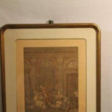 Arte: GRABADOS CORTESANOS FRANCIA S. XVIII. Lote 172107943