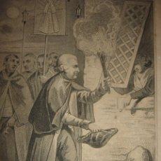 Arte: GRABADO COSTUMBRISTA PROCESIÓN DEL ROSARIO PORTUGAL SIGLO XIX,ORIGINAL,PARIS,1856,PARDINEL/LALAISSE. Lote 172571733