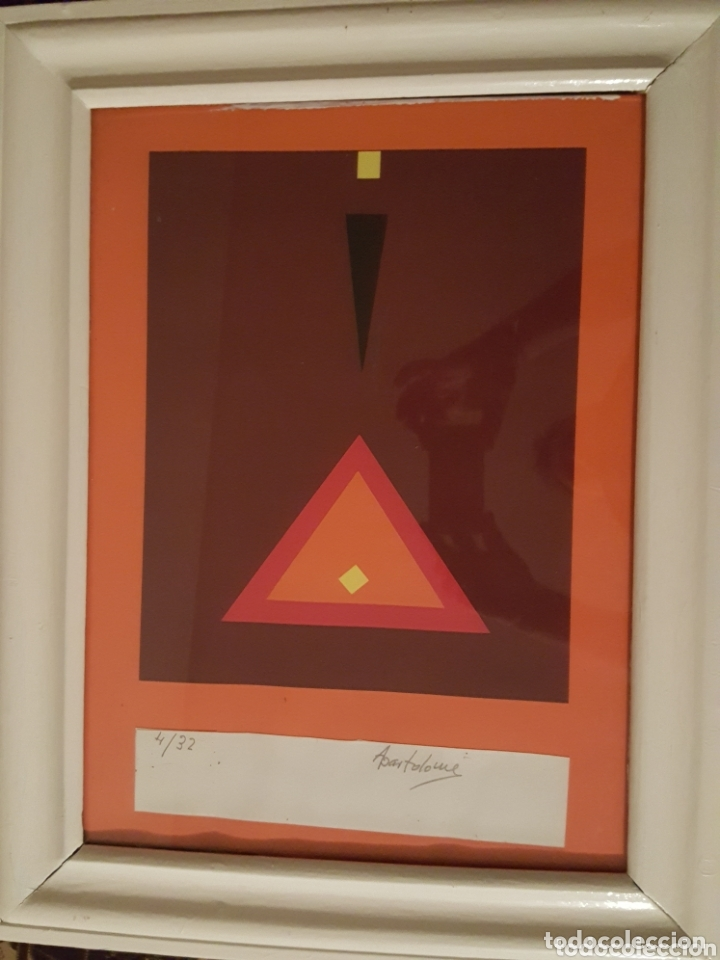 EXCELENTE OBRA DEL ARTISTA DE ZAMORA ALFONSO BARTOLOME. LITOGRAFIA A COLOR. FIRMADA Y NUMERADA (Arte - Grabados - Contemporáneos siglo XX)