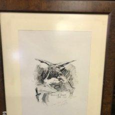 Arte: GRABADOS ORIGINALES ROGELIO Gª VAZQUEZ. Lote 172898358