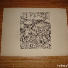 Arte: OPISSO GRABADO PAPEL MARCA DE AGUA GUARRO. Lote 173525265