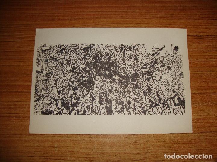 OPISSO GRABADO PAPEL MARCA DE AGUA ROMANI BARCELONA (Arte - Grabados - Contemporáneos siglo XX)