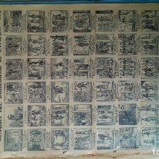 Arte: HISTORIA DEL BARBERILLO DE LAVAPIÉS LISTA PARA ENMARCAR PURO SIGLO DIECINUEVE POR SÓLO SESENTA . Lote 173526760