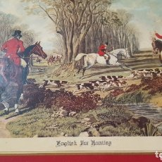 Arte: ENGLISH FOR HUNTING. J.F. HERRING.. Lote 173927928