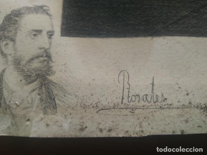 Arte: GRABADO PRESENTACION DE D. JUAN DE AUSTRIA AL EMPERADOR CARLOS V BASADO EN OBRA DE EDUARDO ROSALES - Foto 4 - 173968768