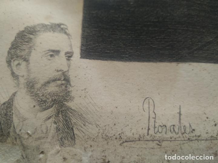 Arte: GRABADO PRESENTACION DE D. JUAN DE AUSTRIA AL EMPERADOR CARLOS V BASADO EN OBRA DE EDUARDO ROSALES - Foto 5 - 173968768