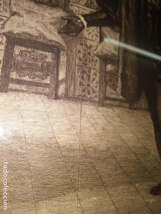 Arte: GRABADO PRESENTACION DE D. JUAN DE AUSTRIA AL EMPERADOR CARLOS V BASADO EN OBRA DE EDUARDO ROSALES - Foto 27 - 173968768