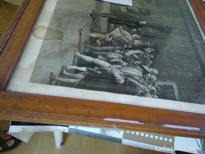 Arte: GRABADO PRESENTACION DE D. JUAN DE AUSTRIA AL EMPERADOR CARLOS V BASADO EN OBRA DE EDUARDO ROSALES - Foto 29 - 173968768