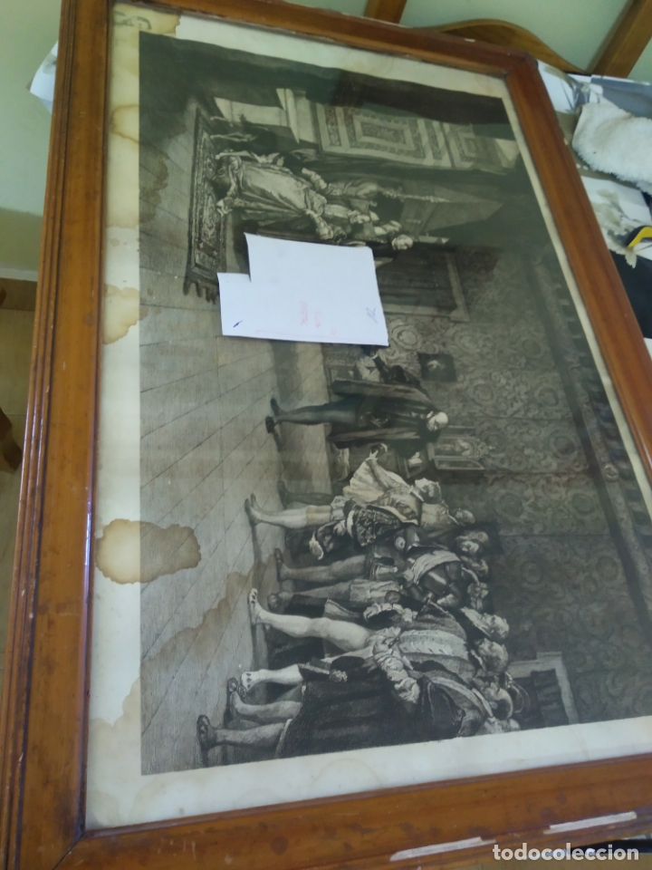 Arte: GRABADO PRESENTACION DE D. JUAN DE AUSTRIA AL EMPERADOR CARLOS V BASADO EN OBRA DE EDUARDO ROSALES - Foto 30 - 173968768