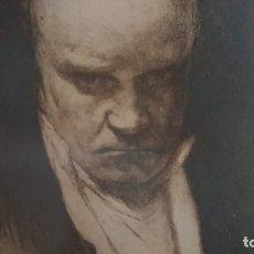 Arte: BEETHOVEN AGUAFUERTE DE CARLOS VERGER FIORETTI. Lote 174036862