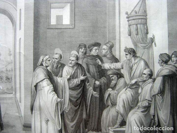 Arte: 63 CM - Martirio de San Pedro - Carlo Lasinio - Foto 3 - 174100194