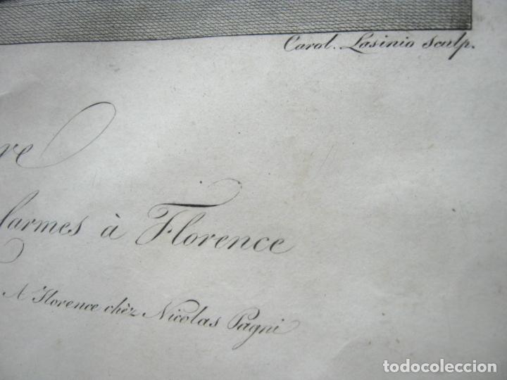 Arte: 63 CM - Martirio de San Pedro - Carlo Lasinio - Foto 7 - 174100194