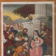 Arte: LA ADORACIÓN DE LOS MAGOS. - BIELSA. J.. Lote 174127910