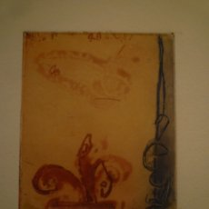 Arte: GEMMA MOLERA. GRABADO. 11/30. FIRMADO Y NUMERADO. 36 X 27. Lote 174499004