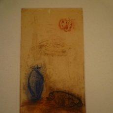 Arte: GEMMA MOLERA. GRABADO. 14/30. FIRMADO Y NUMERADO. 36 X 27. Lote 174499074