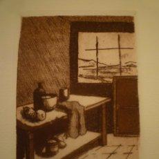 Arte: LUISA GARCIA MURO. GRABADO. FIRMADO Y NUMERADO. P.A. 35 X 30CM.. Lote 174499298