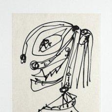 Arte: DAMA 2 - ANTONIO SAURA (HUESCA, 1930 - 1998) - GRABADO PAPEL - 49 X 38 CMS. Lote 174575327
