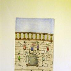 Arte: AGRIPINA MORA-GRABADO IV (28X19 CMS). Lote 174625962