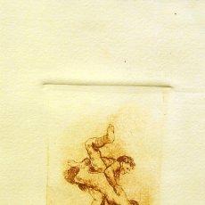 Arte: SENTO MACIÀ, GRABADO PUNTA SECA. Lote 174848413