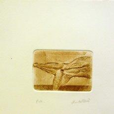 Arte: SENTO MACIÀ, GRABADO PUNTA SECA. Lote 174849612