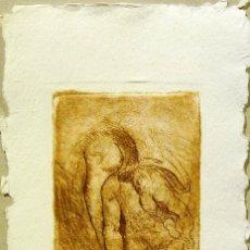 Arte: SENTO MACIÀ, GRABADO PUNTA SECA. Lote 174849909