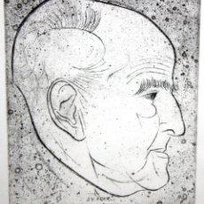 Arte: JOSEP Mª SUBIRACHS (BARCELONA, 1927 - 2014) AGUAFUERTE DE J.V.FOIX. TIRAJE: P/A. Lote 174857349