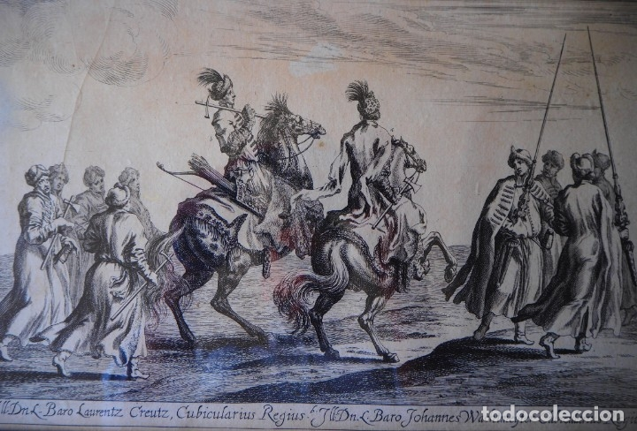 Arte: Grabado Siglo XVII. Suecia. Carl XI of Sweden. Ehven Strahl - Foto 3 - 175093457