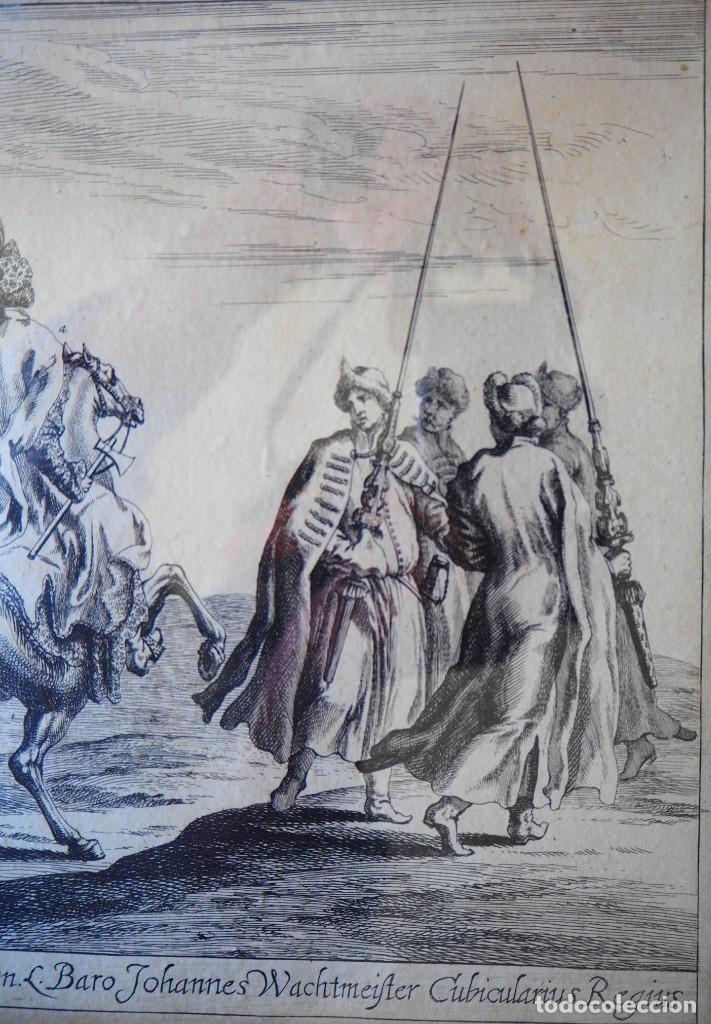 Arte: Grabado Siglo XVII. Suecia. Carl XI of Sweden. Ehven Strahl - Foto 4 - 175093457