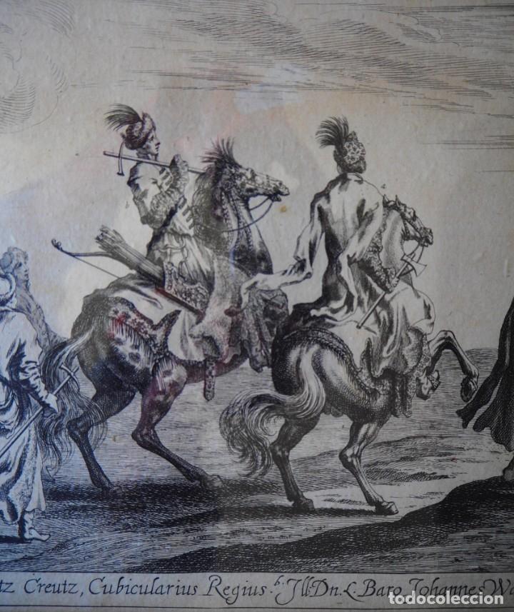 Arte: Grabado Siglo XVII. Suecia. Carl XI of Sweden. Ehven Strahl - Foto 5 - 175093457