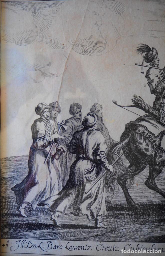 Arte: Grabado Siglo XVII. Suecia. Carl XI of Sweden. Ehven Strahl - Foto 6 - 175093457