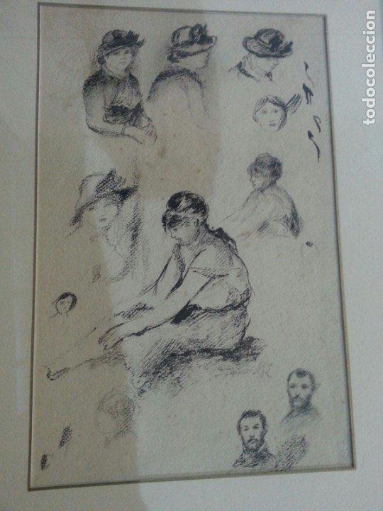 RENOIR PUNTA SECA CON SELLO (Arte - Grabados - Contemporáneos siglo XX)