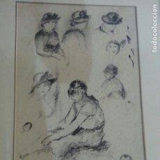 Arte: RENOIR PUNTA SECA CON SELLO. Lote 175109183