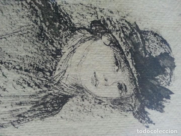Arte: Renoir Punta seca con Sello - Foto 2 - 175109183