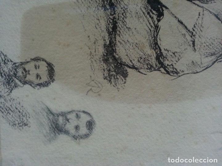 Arte: Renoir Punta seca con Sello - Foto 3 - 175109183